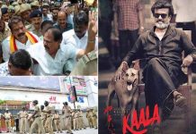 'Kaala' screened in Bengaluru after protesters whisked away