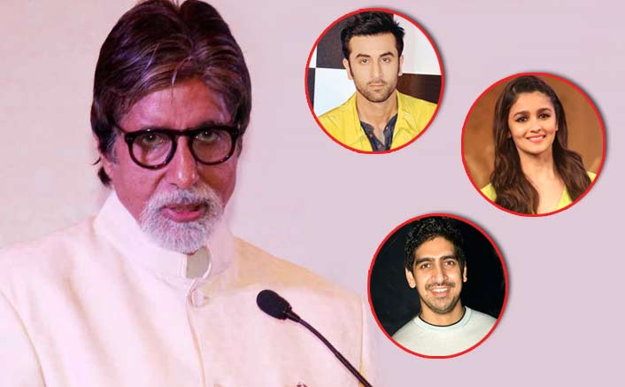 May this new generation educate me in qualities I lack: Big B to Alia, Ranbir, Ayan