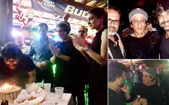 R Madhavan celebrates birthday with Shahrukh Khan, Anushka Sharma on the sets of Anand L Rai's Zero