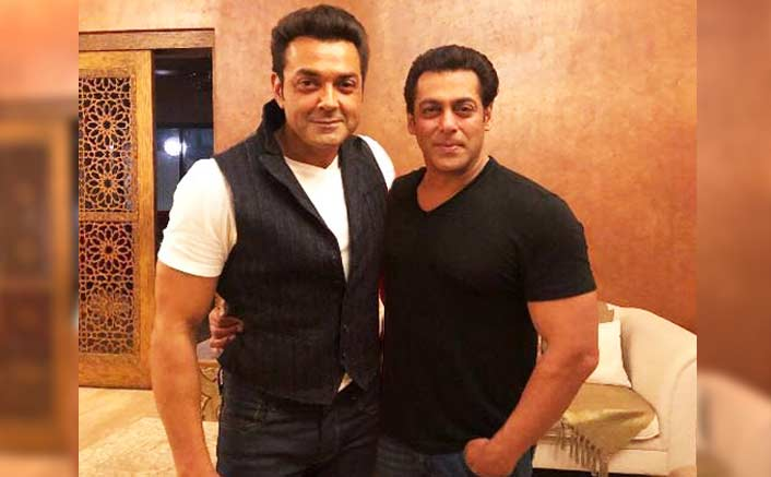 Salman Khan To Play Mentor To The Long-Time Pal Bobby Deol