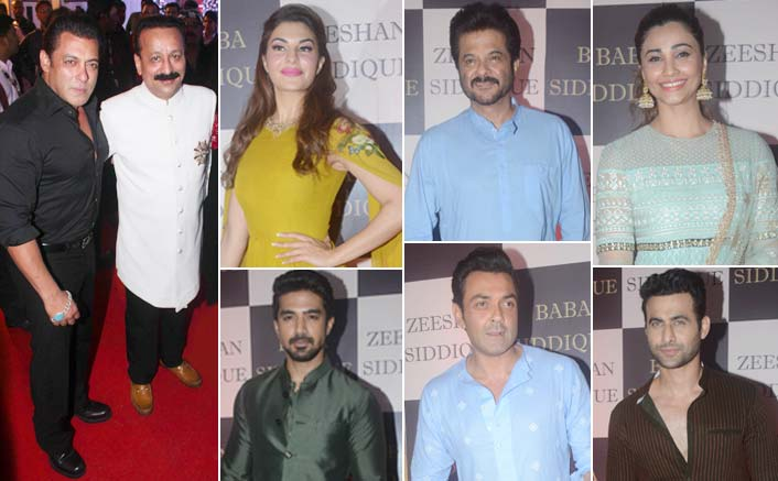 Salman, 'Race 3' team attend Baba Siddique's Iftaar party