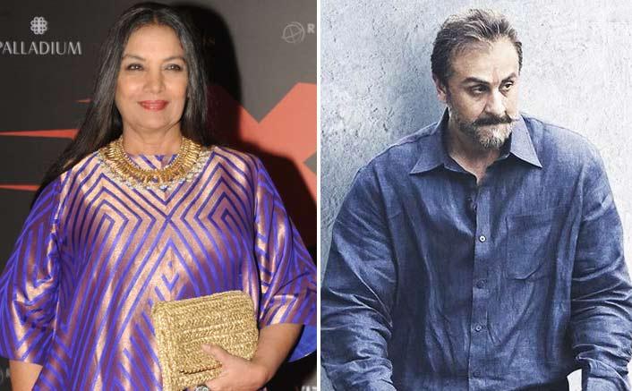 Shabana Azmi goes gaga over Ranbir's 'Sanju' act