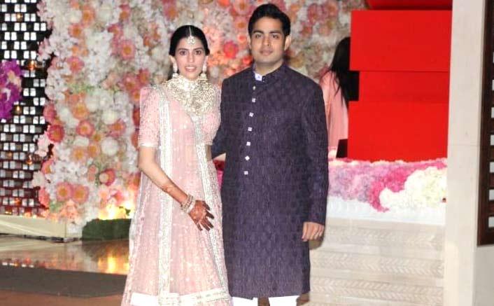 SRK, Priyanka, many more attend Akash-Shloka's engagement ceremony