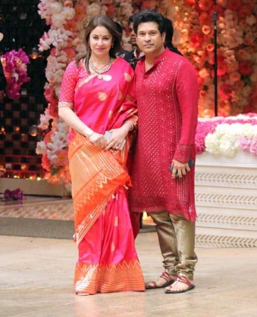 Anjali Tendulkar, Sachin Tendulkar