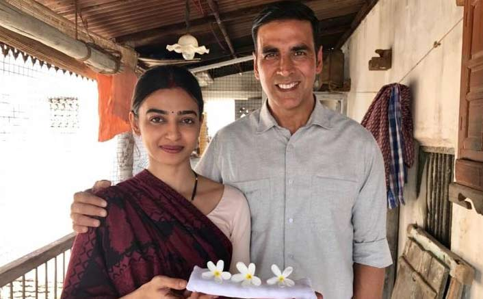 Akshay Kumar and Radhika Apte