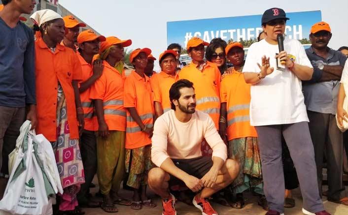 Varun Dhawan calls for protection of environment