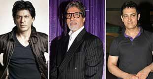 Amitabh Bachchan, Aamir & Shah Rukh Khan For 'Endhiran'!