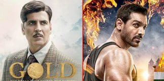Akshay seems unhappy with 'Gold', 'Satyameva Jayate' clash