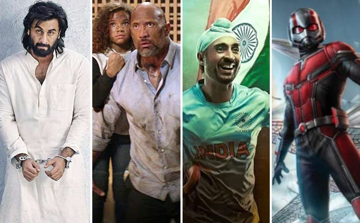 Box Office - Weekend updates of Sanju, Skyscraper, Soorma, Ant Man And The Wasp
