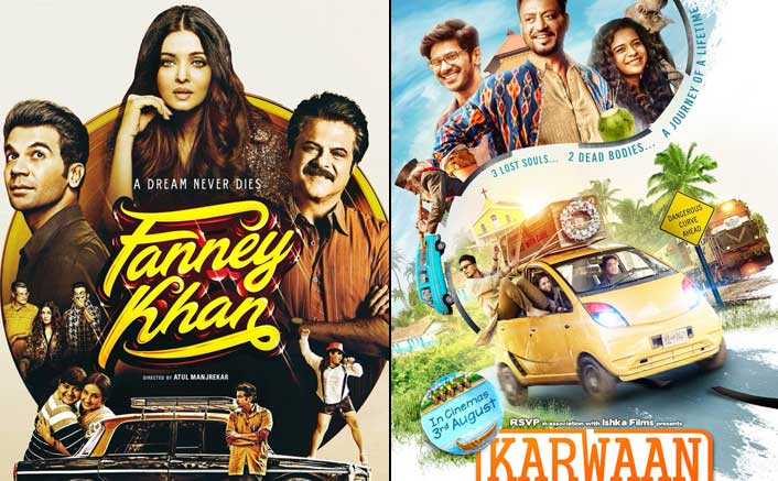 Fanney Khan and Karwaan Pre-Release Analysis: Aishwariya Rai, Irrfan Khan Films Dependent On Audience Word Of Mouth!