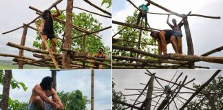 Harshvardhan Rane builds his dream tree house!