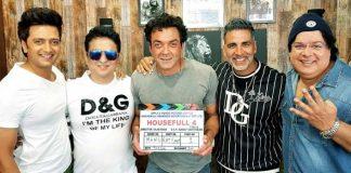 'Housefull 4' shoot begins
