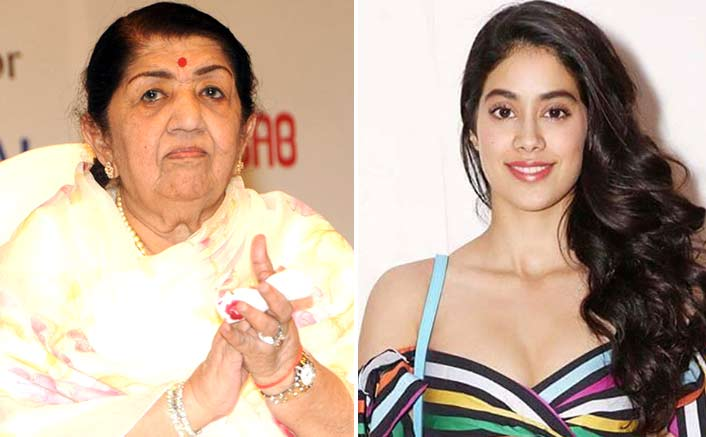 I'd love to sing for Janhvi Kapoor: Lata Mangeshkar