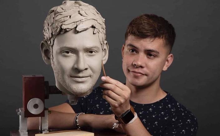 Mahesh Babu's wax statue in progress, early insights look undistinguishable