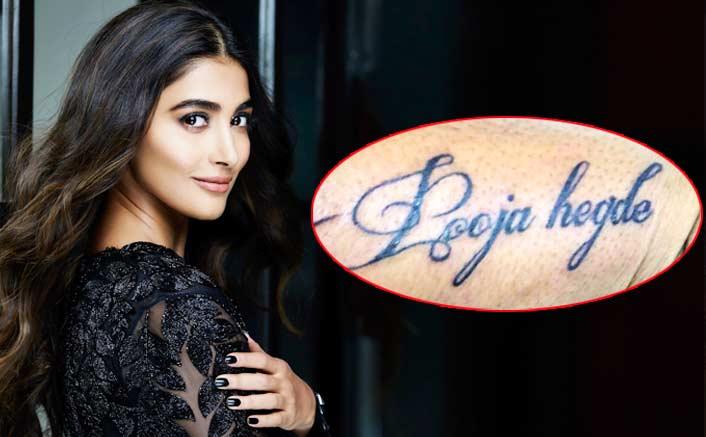 Pooja Hegde's fan impersonates her tattoo!