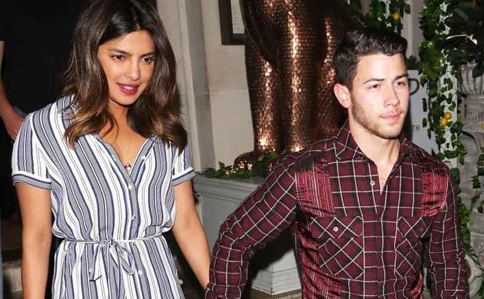 Priyanka, Nick on double date