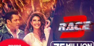 Race 3 songs create an 'all-time hit' record on Gaana