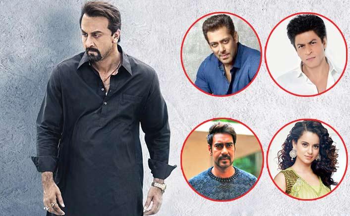Sanju Box Office: Ranbir Kapoor Crosses 1 Film Each Of Salman Khan, Ajay Devgn, Shah Rukh Khan & Kangana Ranaut!