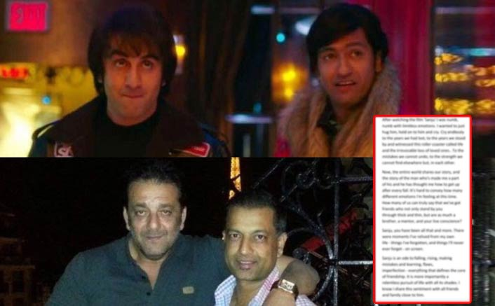 Sanju: Real Life Kamli, Paresh Ghelani, Pens An Emotional Letter For Sanjay Dutt!