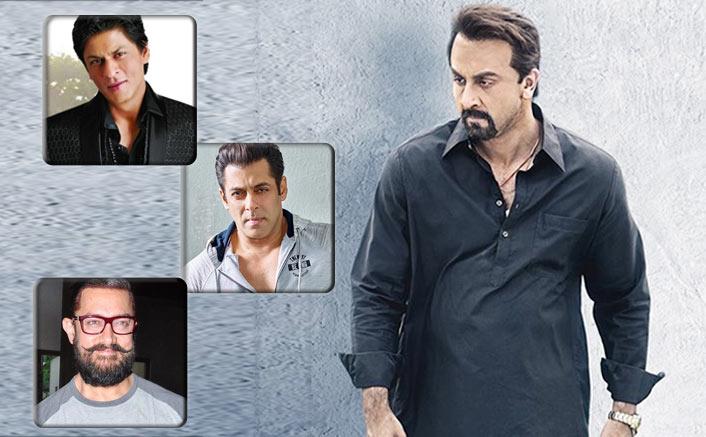 Sanju VS Salman SRK & Aamir