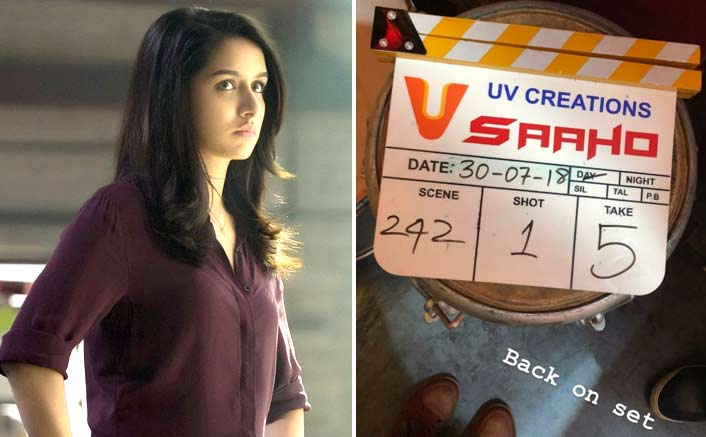 Shraddha Kapoor begind shooting for next schedule of Saaho