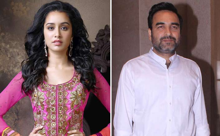 Shraddha Kapoor finds family in Pankaj Tripathi on the sets of Stree