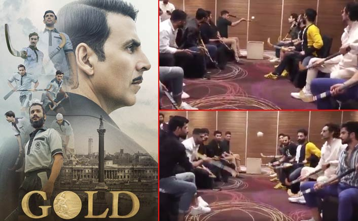Akshay Kumar explains the importance of teamwork with Gold co-stars in a video