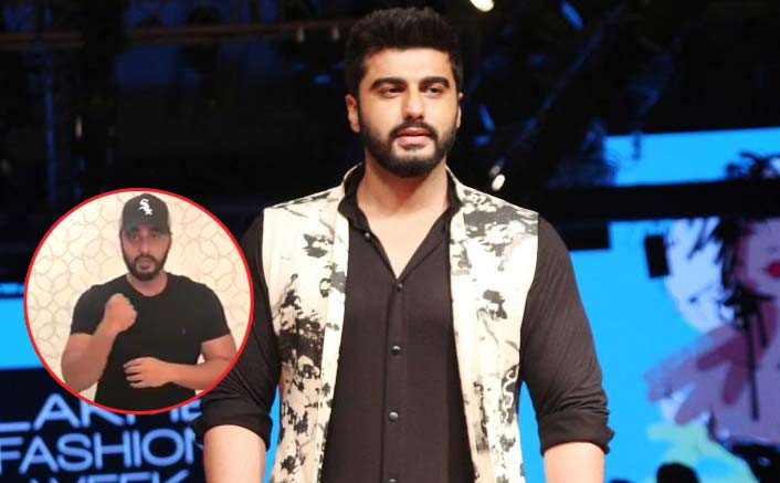 Arjun Kapoor learns sign language for fan