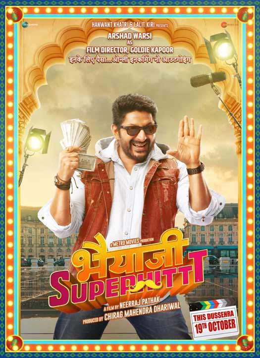 Arshad Warsi's look from Bhaiaji Superhit Released