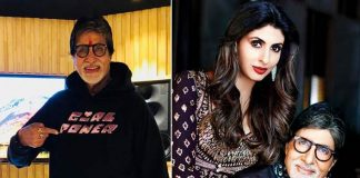 Big B flaunts hoodie designed by daughter