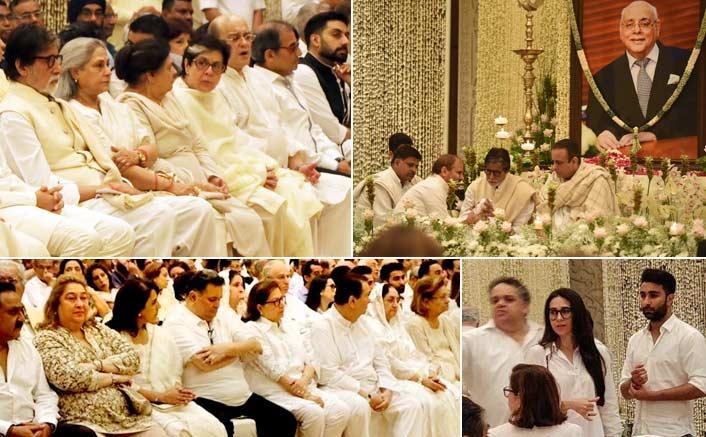 Bollywood celebs attend Rajan Nanda's prayer meet