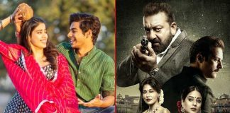 Box Office - Dhadak continues to lead, Saheb Biwi aur Gangster 3 is a Disaster