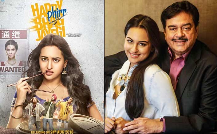Father looking forward to watching 'Happy Phir Bhag Jayegi': Sonakshi