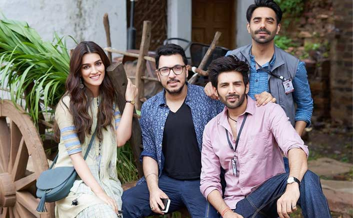 Kartik, Kriti start 'Luka Chuppi' shoot