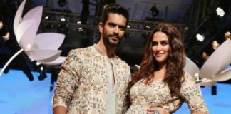 Lakme Fashion week 2018: Neha Dhupia Flaunts Her Baby Bump As She Walks The Ramp With Angad Bedi!