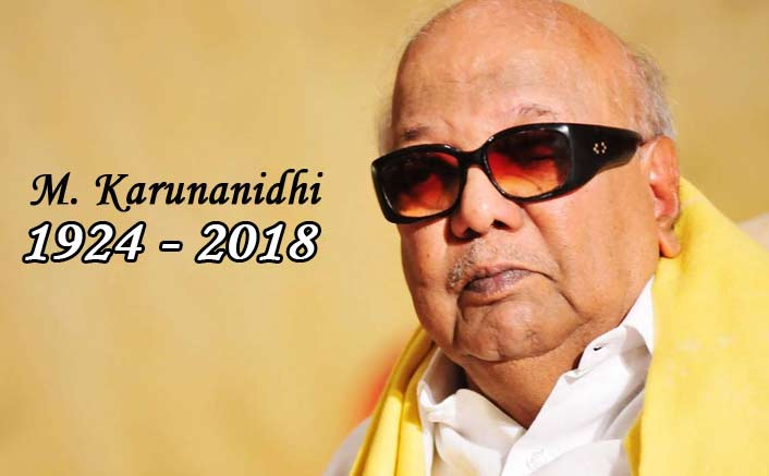 RIP Kalaignar: Indian Film Industry Mourns & Pays Tribute To M. Karunanidhi