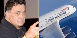 Rishi Kapoor calls British Airways 'racist'