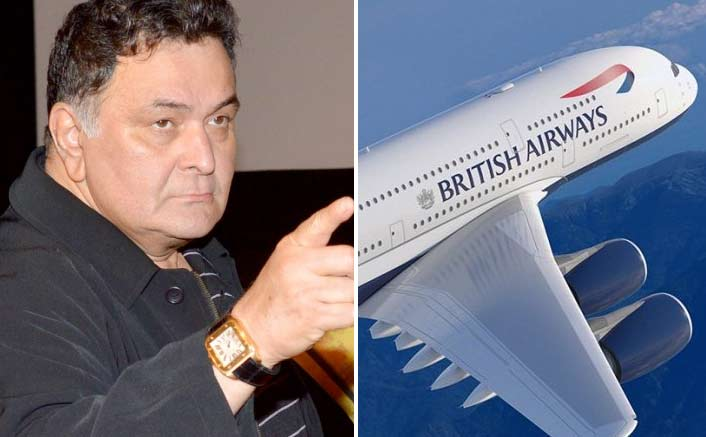 Rishi Kapoor Calls British Airways Racist; Asks People To Not Fly With Them