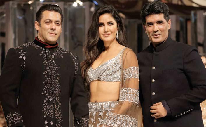 Salman, Katrina dazzle as show stoppers for Manish Malhotra