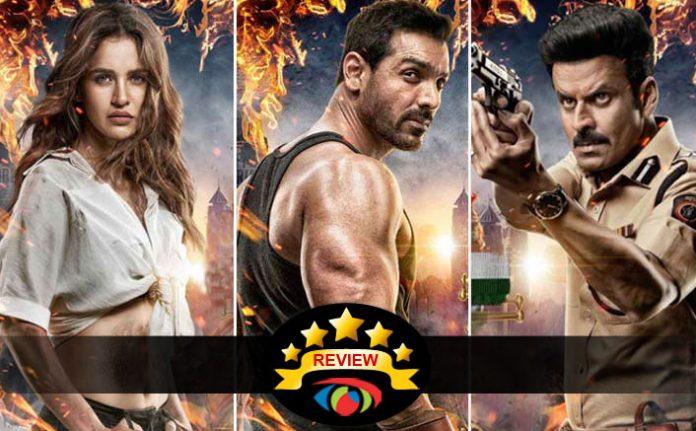 Satyameva Jayate Movie Review In This Fight Of John Abraham VS Manoj Bajpayee Entertainment Wins