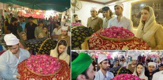 Team Laila Majnu visits Ajmer Dargah