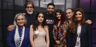 Bachchans, Bollywood celebs support Shweta's design debut