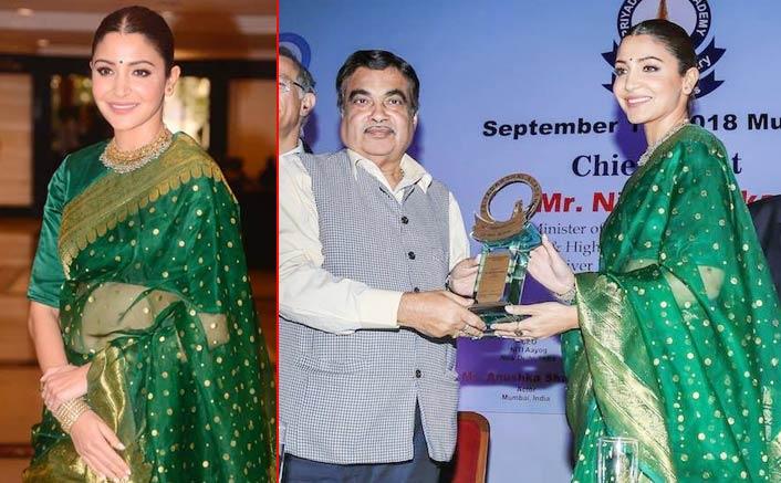 Receiving Smita Patil award validates my choices: Anushka Sharma
