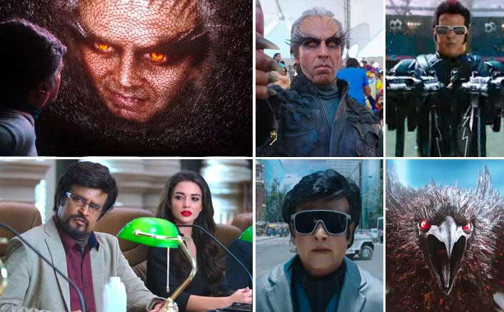 '2.0' trailer: Rajinikanth and Akshay Kumar starrer promises to be visual treat
