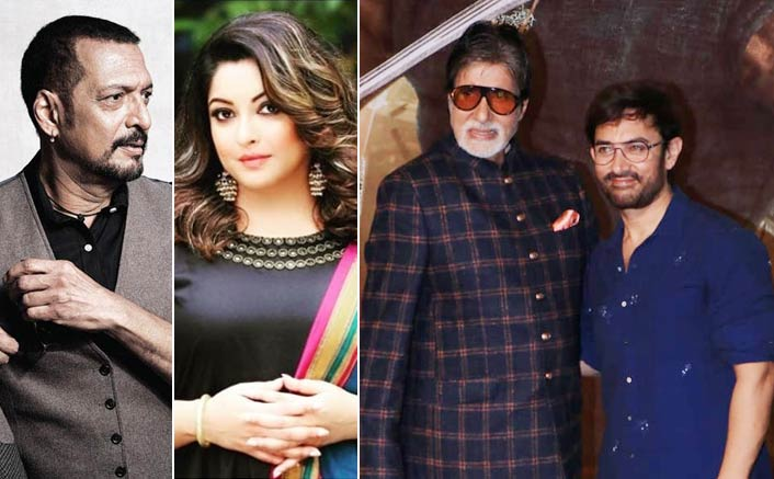Amitabh Bachchan, Aamir Khan React On Tanushree Dutta & Nana Patekar Sexual Assault Controversy