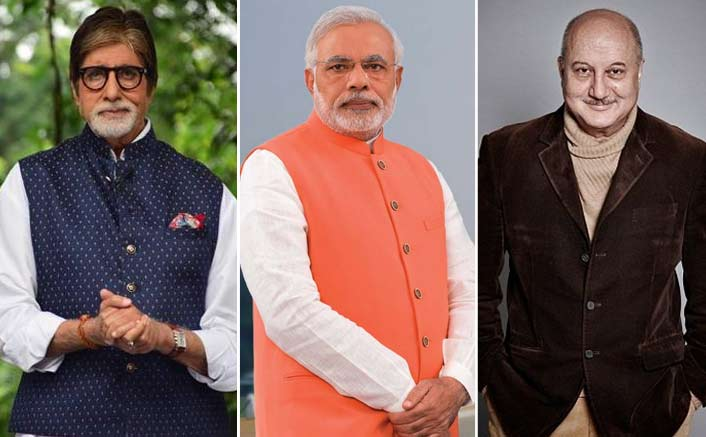 Bollywood celebs wish 'visionary' Modi on 68th b'day