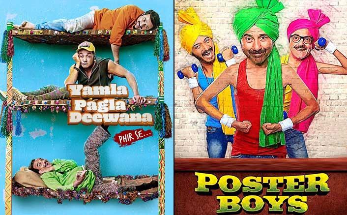 Box Office - Yamla Pagla Deewana Phir Se has a lesser weekend than even Poster Boys