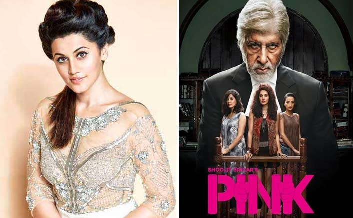 'Pink' gave me a sense of direction: Taapsee