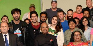 Ranbir, Alia meet Ram Nath Kovind on 'Brahmastra' set