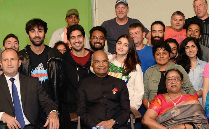 Ranbir, Alia meet Ram Nath Kovind on 'Brahmastra' set